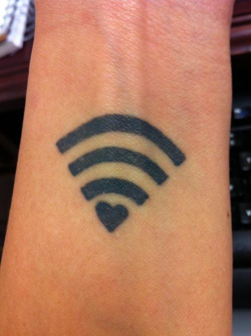 Wi-Fi Tech Tattoo